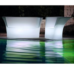 MODUM - mobilier jardin - Barra De Bar Luminosa