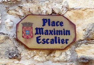 POTERIE TOURNESOL -  - Placa De Nombre De Calle