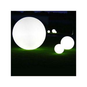 TossB - globe lumineux à même le sol / de table globo inté - Sofá Para Jardín