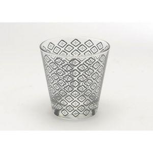 Amadeus - lot de 6 verres bas batik - Vaso