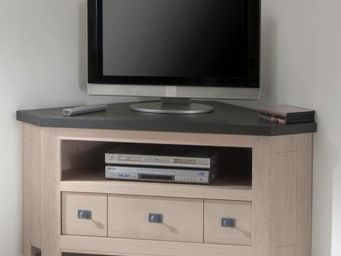 Ateliers De Langres - meuble tv d'angle whitney - Mueble Tv Hi Fi