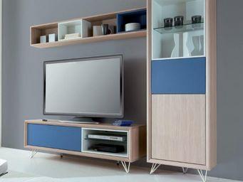 Ateliers De Langres - meuble tv tentation - Mueble Tv Hi Fi