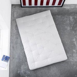 WHITE LABEL - matelas futon confort 90*200*15cm - Futón