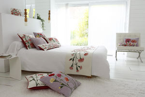 Art De Lys - oeillets /carnation flower - Cubre Cama