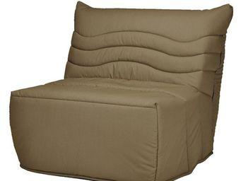 WHITE LABEL - fauteuil-lit bz matelas hr 90 cm - speed rico - l - Banqueta Bz