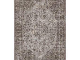 WHITE LABEL - tapis cendre 340 x 240 cm - oriental - l 340 x l 2 - Alfombra Contemporánea