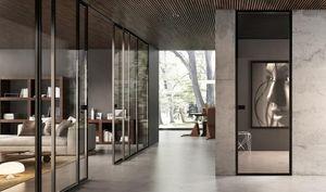 GAROFOLI - glass doors - Puerta De Comunicación Deslizante