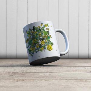 la Magie dans l'Image - mug ananas - Taza