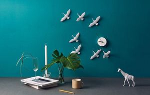 HAOSHI DESIGN - migrantbird - Reloj De Pared
