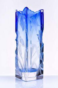 MOSER - irises - Jarro Decorativo