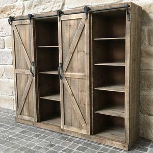 CHEMIN DE CAMPAGNE - meuble etagère bahut buffet armoire de cuisine ou  - Estantería