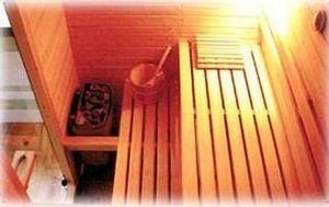 Sauna Tonic - en sapin ou hemlock - Sauna