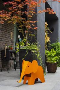 METAL Ô DESIGN - -elephant - Ornamento De Jardín
