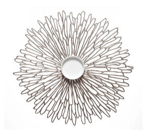 CHILEWICH - --bloom round - Mantel Individual