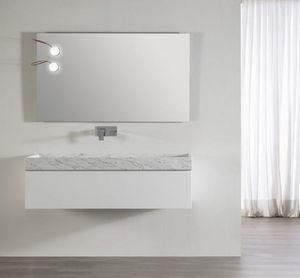 CasaLux Home Design - marmor 60 bl bril carrare 0t - Mueble Pila