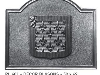 Stern - granitée + décor - Placa De Chimenea
