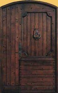 Entreprise Provencale De Menuiserie - castellar - Puerta Descansillo Maciza