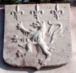 La Pierre d'Antan -  - Escudo De Puerta