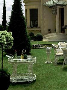 DURCAP -  - Mesa Con Ruedas Para Jardín