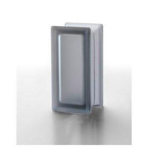 Medio ladrillo de vidrio