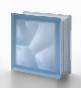 Rouviere Collection - brique de verre ondulé satiné deux faces - Ladrillo De Vidrio