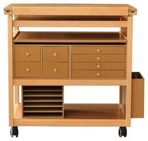 Auboi Martial Becquart - meuble atelier scrapbooking - Mesa De Dibujo