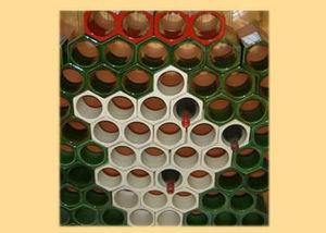 LA GOUTTIERE EN TERRE CUITE -  - Recipiente Térmico Para Vino