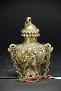 AfricAsia Primitive and Antiques - encrier du xixèmè, népal - Tintero