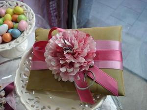 RICAMERIA MARCO POLO - cuscinetto per bomboniere matrimonio e cerimonie - Bombonera De Boda