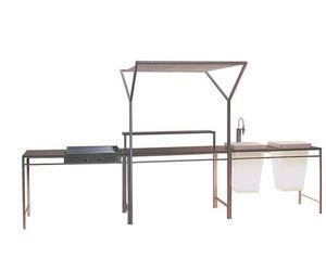 Bruno Houssin Design - karna'k - Cocina De Exterior