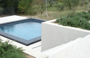 Rouviere Collection - margelle noire - Borde Perimetral De Piscina