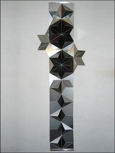 Aluminium Artworks - lunar-flora - Decoración De Pared