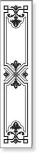 Philip Bradbury Glass - richmond - Revestimiento Para Puerta
