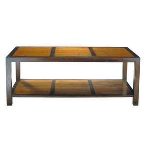 MAISONS DU MONDE - table basse rectangle bamboo - Mesa De Centro Rectangular