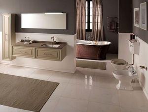 BLEU PROVENCE - meuble charme 4 - Mueble De Cuarto De Baño