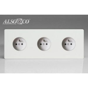 ALSO & CO - triple socket - Toma Eléctrica