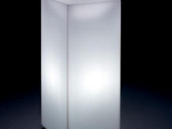 Lyxo by Veca - home fitting cubo alto outdoor - Mesa De Centro Luminosa