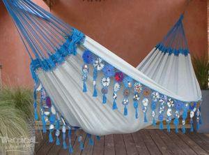 Hamac Tropical Influences - maranguape bleu - Hamaca