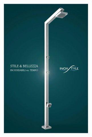 INOXSTYLE - Ducha de exterior-INOXSTYLE-Tecno Cube L Zoe