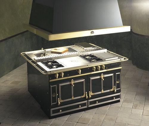 La Cornue - Islote de cocina equipado-La Cornue