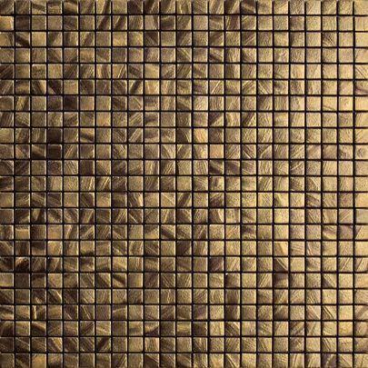 Vives Azulejos y Gres - Azulejos para pared-Vives Azulejos y Gres-Satinados Mosaico Tiépolo Oro 30x30cm