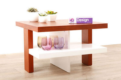 Miliboo - Mesa de centro rectangular-Miliboo-GLASGOW TABLE BASSE