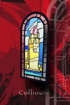 Atelier 1..2..3 vitrail - Vidriera-Atelier 1..2..3 vitrail-phare