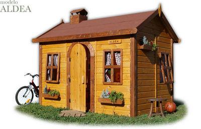 CABANES GREEN HOUSE - Casa de jardín niño-CABANES GREEN HOUSE-ALDEA