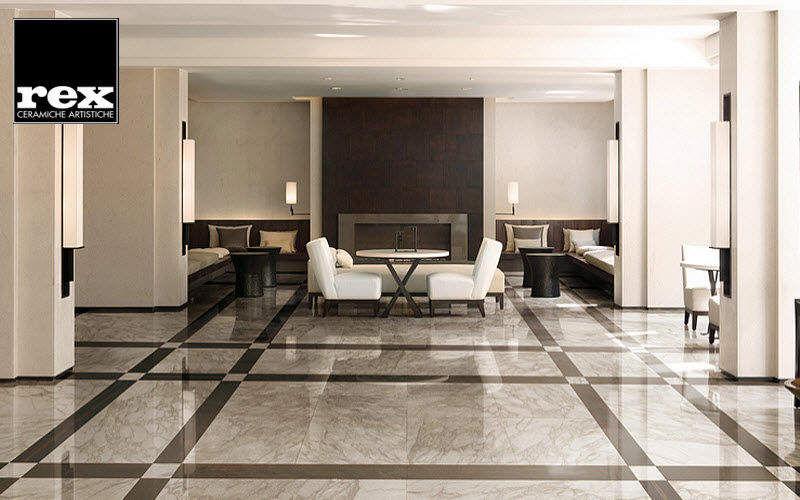 REX CERAMICHE ARTISTICHE Lastra per pavimentazione interna Lastricati Pavimenti Salotto-Bar | Classico
