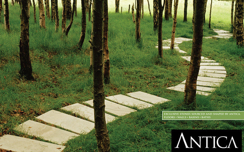 Antica Ceramica Camminamento giapponese Pavimenti per esterni Pavimenti Giardino-Piscina   Design Contemporaneo