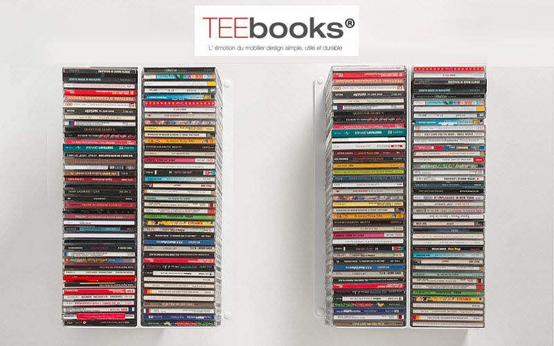 TEEBOOKS Mobile porta CD / DVD Mobiletti Armadi, Cassettoni e Librerie  |