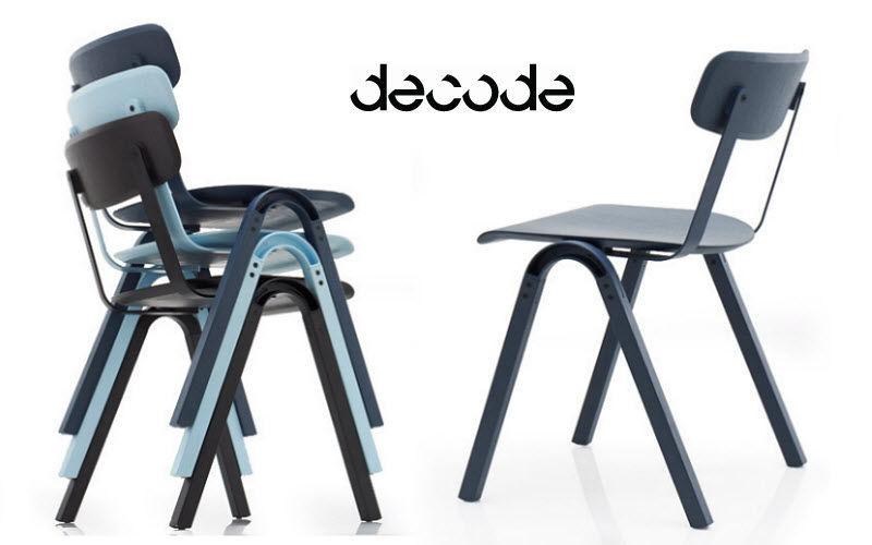 DECODEO Sedia impilabile Sedie Sedute & Divani   