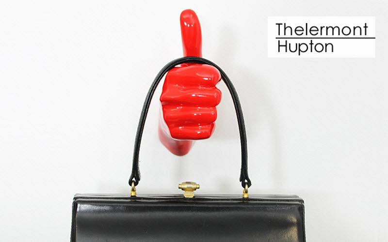 Thelermont Hupton Appendiabiti da parete Mobili e Accessori Ingresso Armadi, Cassettoni e Librerie  |