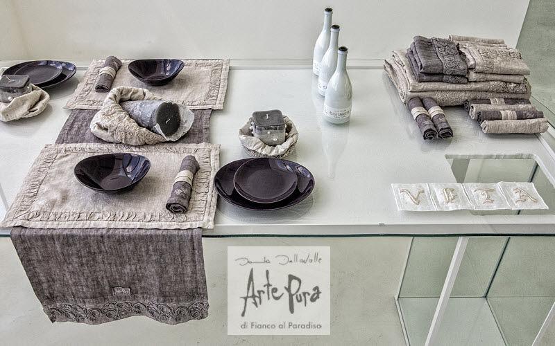 Arte Pura Striscia da tavolo Tovaglie Biancheria da Tavola  |